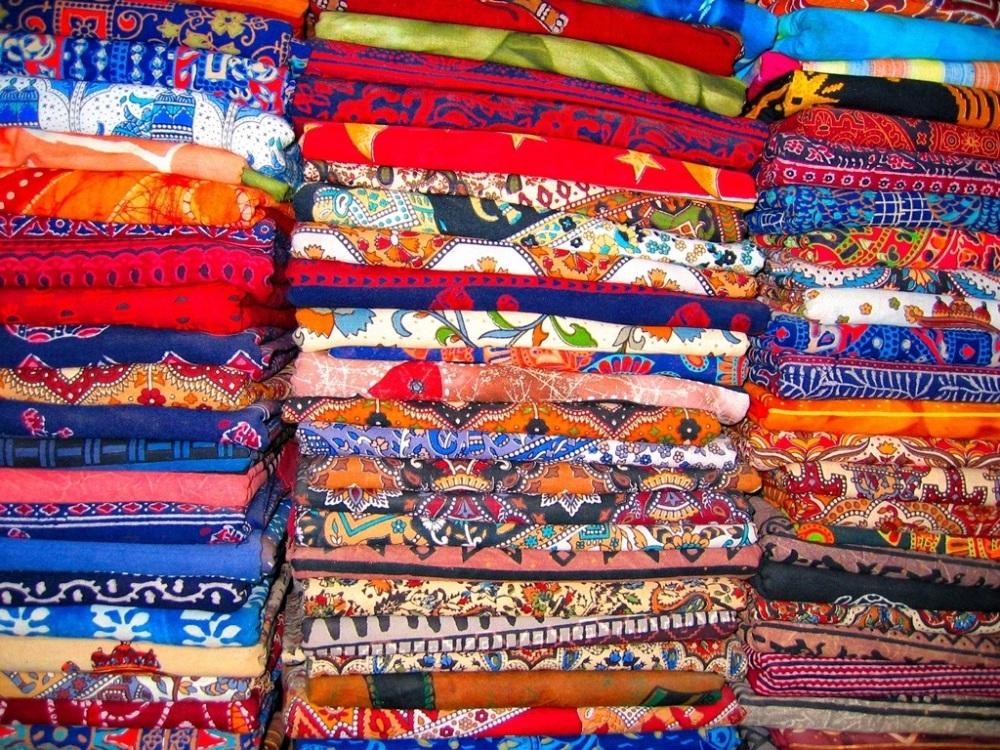 Stoffe multicolori
