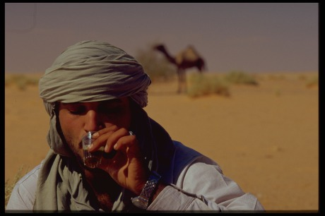 libya - Tea in the desert