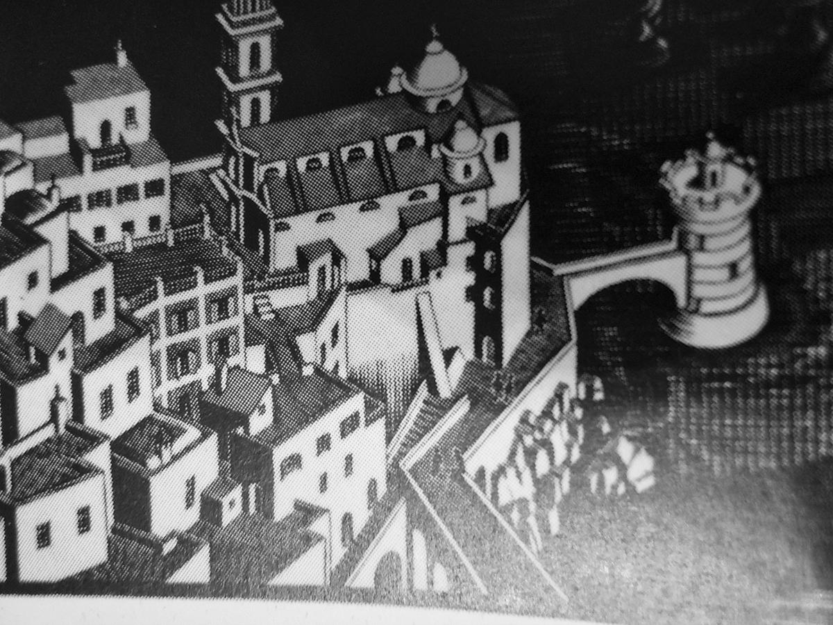 Metamorfosi sergioferraiolo for Escher metamorfosi