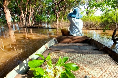 pagaiando sul Mekong