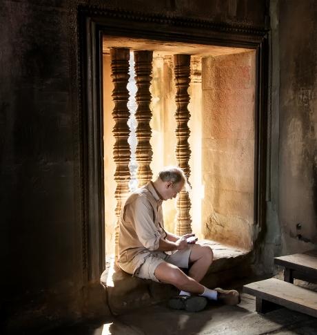 Scrivere ad AngkorWat