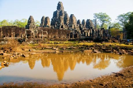 Il Bayon, in Cambogia