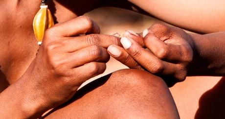 pulizia unghie
